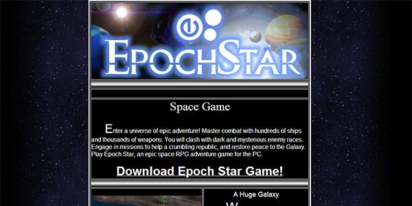 Epoch Star Screen Shot