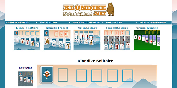 Klondike Screen Shot