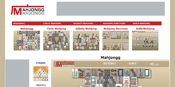 Mahjong Screen Shot