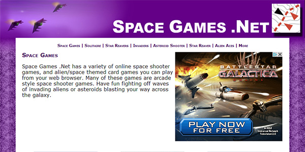 Space Games Screen Shot